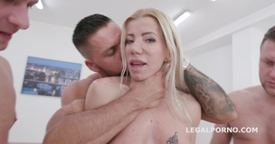 4on1 Classic Lara De Santis Balls Deep Anal, Gapes, and Swallow GIO1364 small screenshot