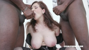BBC anal fun with busty MILF Amelie IV497 small screenshot