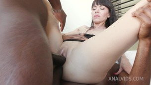 Sasha Colibri has kinky sex with black bulls KS042 small screenshot