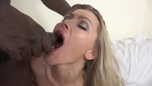 Cristina Tess casting with big black cock KS058 small screenshot