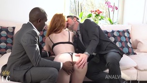 Redhead slut Lenina Crowne gets shared with BBC by boyfriend OTS028 small screenshot