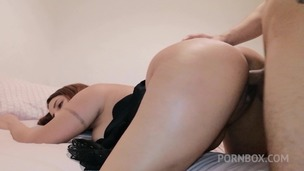 Passionate sex with big butt girlfriend Adara Love OTS052 small screenshot