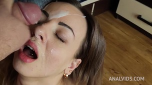 Lilith Sweet masturbates with toys, gets anal fucking & huge facial OTS092 small screenshot