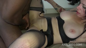 Adeline Lafouine fucked hard by big black cock and gets her ass fisted OTS096 small screenshot