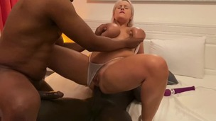 Angel Wicky gets Double Penetration by two BBC OTS352 small screenshot