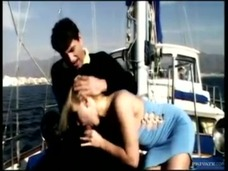 On the Boat out at Sea Gina Has Sex with a Man Wearing a Suit small screenshot