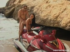 Cristina Bella has Anal Sex in a Mediterranean Beach small screenshot