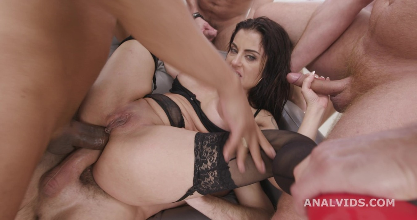 Download LegalPorno - Giorgio Grandi - 7on1 Double Anal Gangbang with Bianka Blue, Balls Deep Anal, DAP, Gapes and Swallow GIO1734
